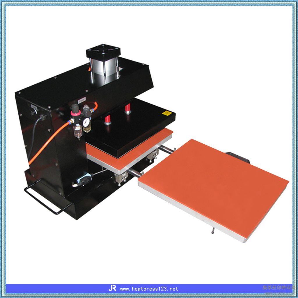 双工位气动烫画机,热转印加工印刷