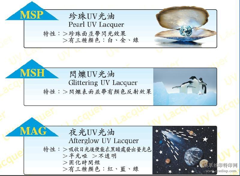 供应珍珠/闪烁/夜光/紫外光固化UV光油珍珠/闪烁/夜光/UV