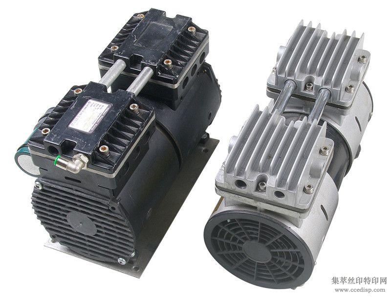 台湾进口1.5L无油真空泵晒版机用