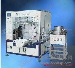 供应全自动酒瓶盖丝印机SA-250RUV圆面丝印机恒晖大厂直销