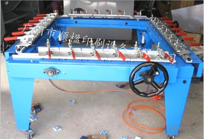 机械拉网机绷网机气动拉网机手动拉网机大型拉网机