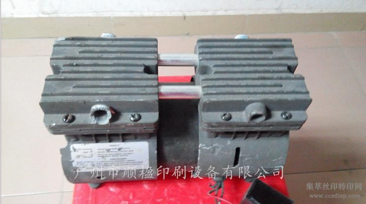 真空泵晒版机曝光机专用真空泵进口无油真空泵晒版机配件