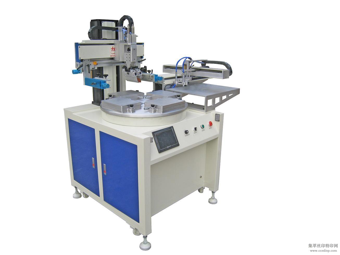 机械手上下料丝印机/全自动机械手上下料丝网印刷机寻求代理商