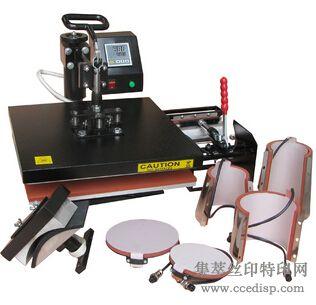 佳利JR-CO08八合一多功能烫画机
