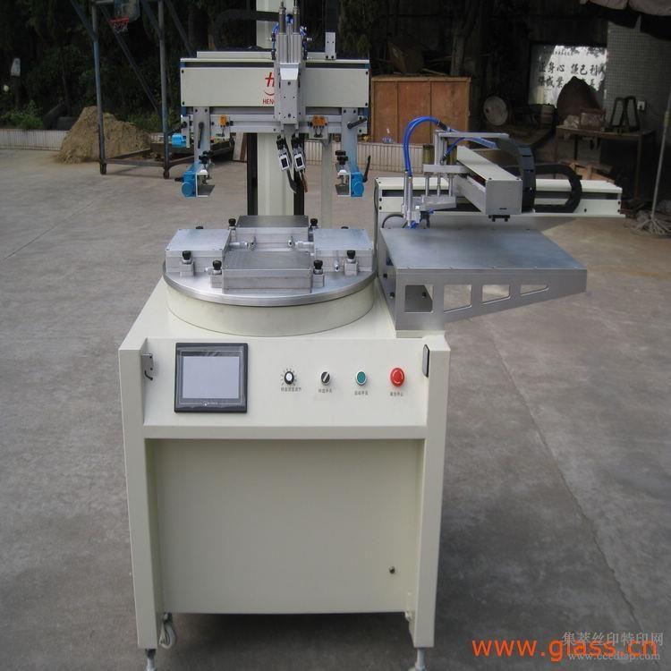 电动平面伺服吸气式丝网印刷机亚克力板厂家寻求代理商