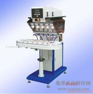 供应SP-858D输送带五色移印机恒晖大厂直销