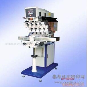 供应SP-858SD穿梭五色移印机恒晖大厂直销