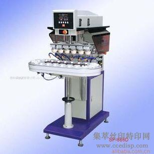 供应SP-868D气动输送带六色移印机恒晖大厂直销