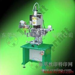 供应特印TH-100S气动曲面胶辊式热转印机恒晖大厂直销