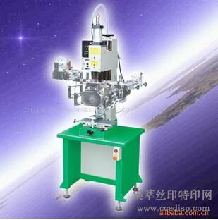 供应TH-100S气动曲面胶辊式热转印机(直销)恒晖大厂直销