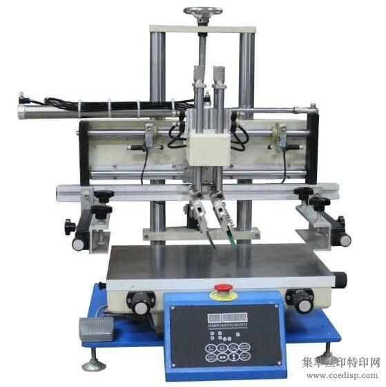 小型500行程丝印机