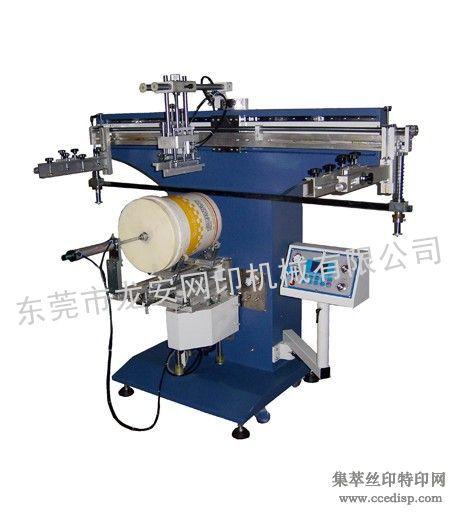 电动圆桶丝印机圆形柱形曲面丝印机