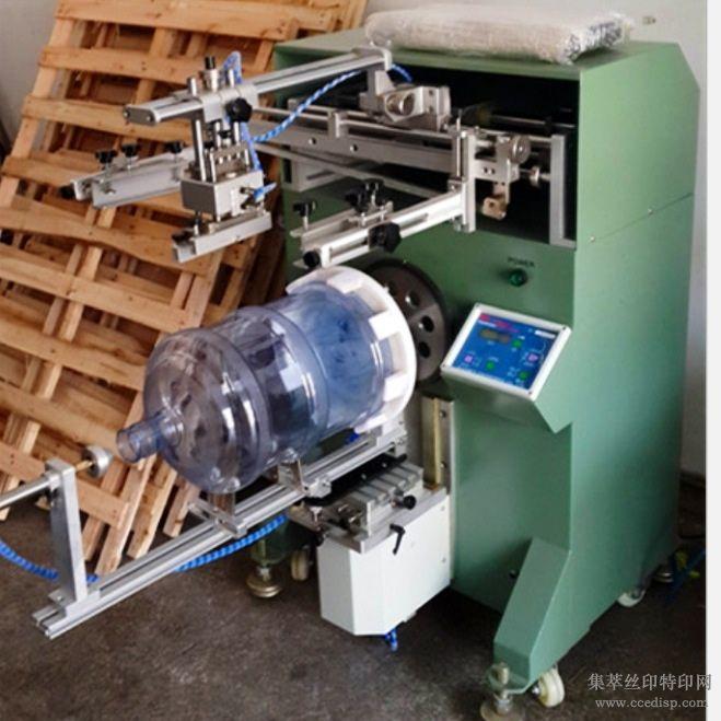 大型矿泉水桶丝印机