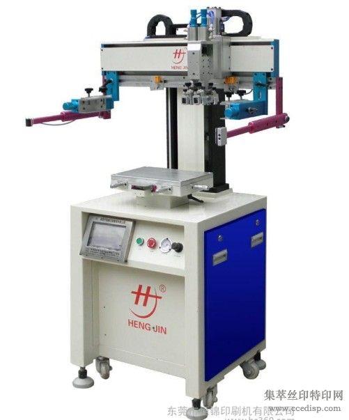 平面丝印机,电动伺服平面吸气丝印机