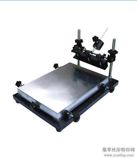 大量批发手印台手动丝印机