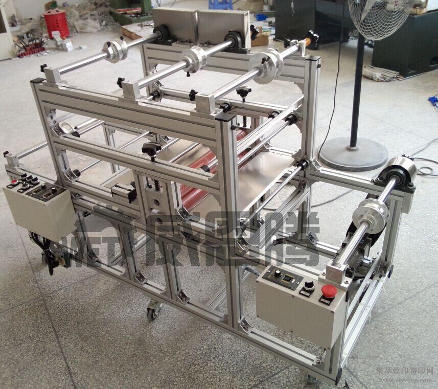 双面胶覆膜机推荐|最新卷对卷自动收料覆膜机