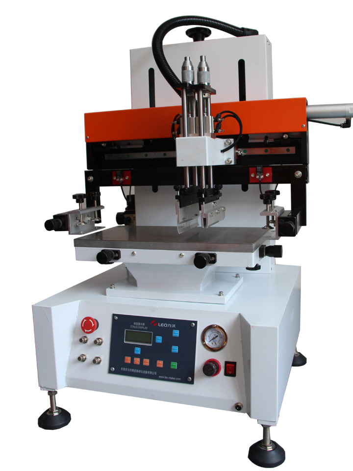 平面丝印机/小型丝印机/小型精密丝印机/小型丝网印刷机/东莞力沃