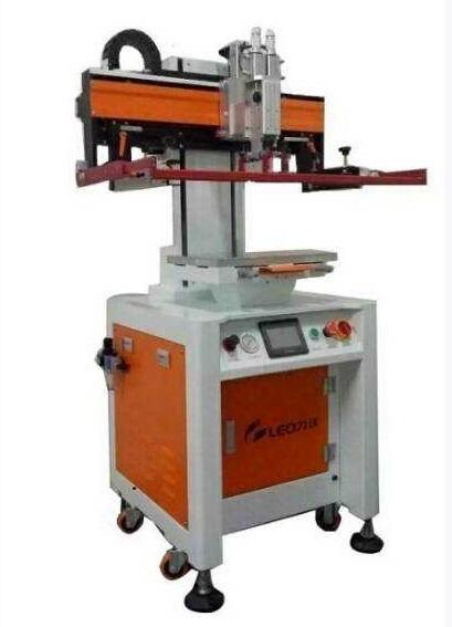 电动平面丝印机伺服高精密丝网印刷的厂家东莞力沃