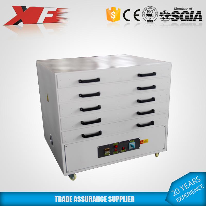 五层网版烘干箱烘干设备规格大小可定制