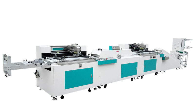 全自动商标-织带丝印机