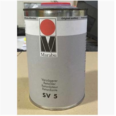 德国玛莱宝SV5慢干剂 稀释剂开油水 慢干开油水 油墨稀释剂
