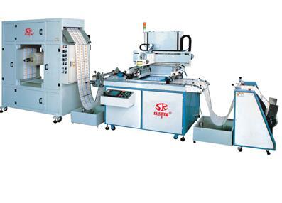 全自动卷料丝印机 丝网印刷机