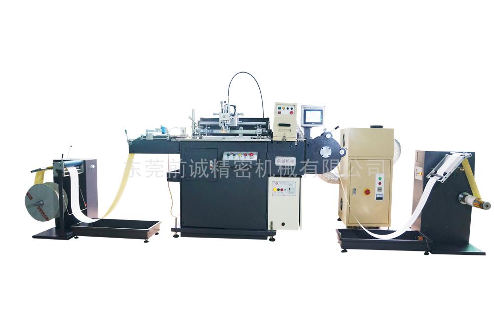 QC-320丝网印刷机加装UV机