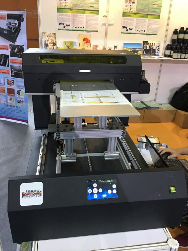 充电宝UV打印机 300*500mm幅面UV喷印机 胸牌打印 门禁卡UV
