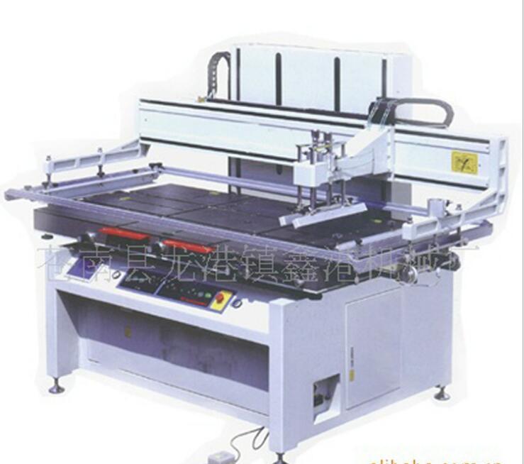 厂家直销斜臂式丝印机 平升式丝印机 丝网印刷机 【鑫港机械】