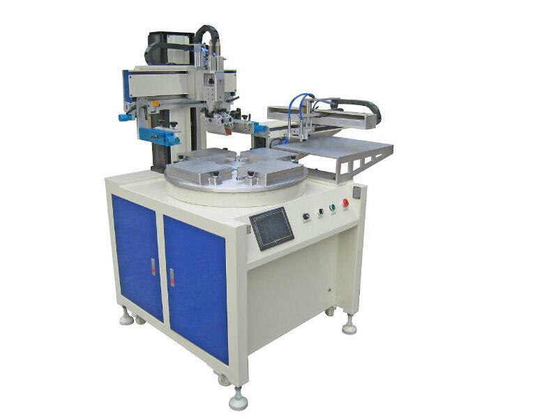 全自动平面丝印机四工位丝网印刷机寻求代理商