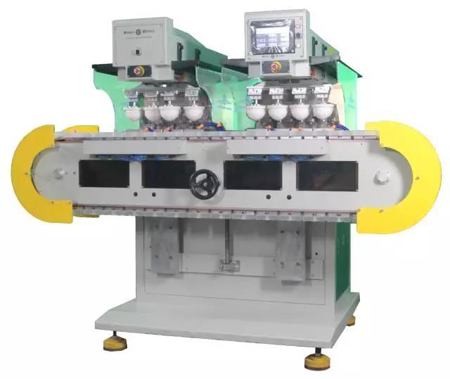 鞋跟移印机,鞋材移印机,全自动移印设备