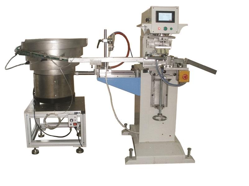 SC散件移印机,光纤接口移印机,端子胶座移印机