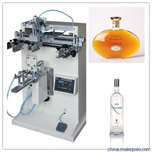 塑料瓶丝印机,玻璃杯丝印机,化妆品瓶子丝网印刷机