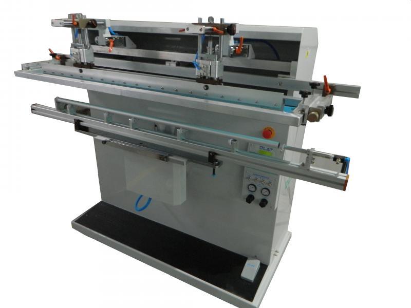 鱼竿丝印机,长杆丝印机,圆管丝网印刷机