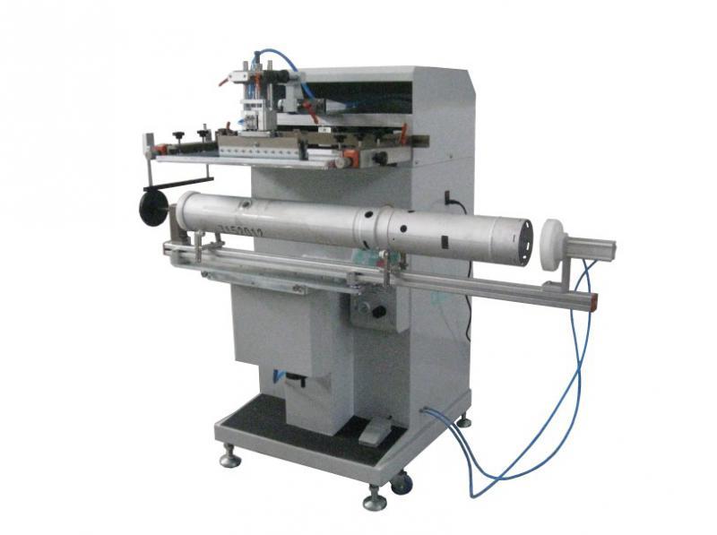 前后刮圆面丝印机,曲面丝印机,加长圆形丝印机