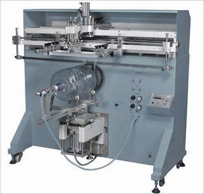 水桶丝印机,油漆桶丝印机,化工桶丝网印刷机