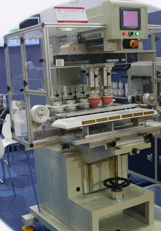空调外壳移印机,冰箱面板移印机,多色移印机厂家