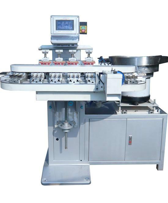 自动移印机,料斗移印机,全自动上下料移印机