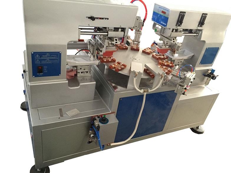 华为电池移印机,双面移印机,电池翻转移印机
