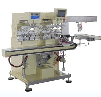 注塑机对接移印机,机械手移印机,移印机设备