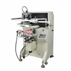 圆面丝印机,曲面丝印机,圆弧形丝网印刷机