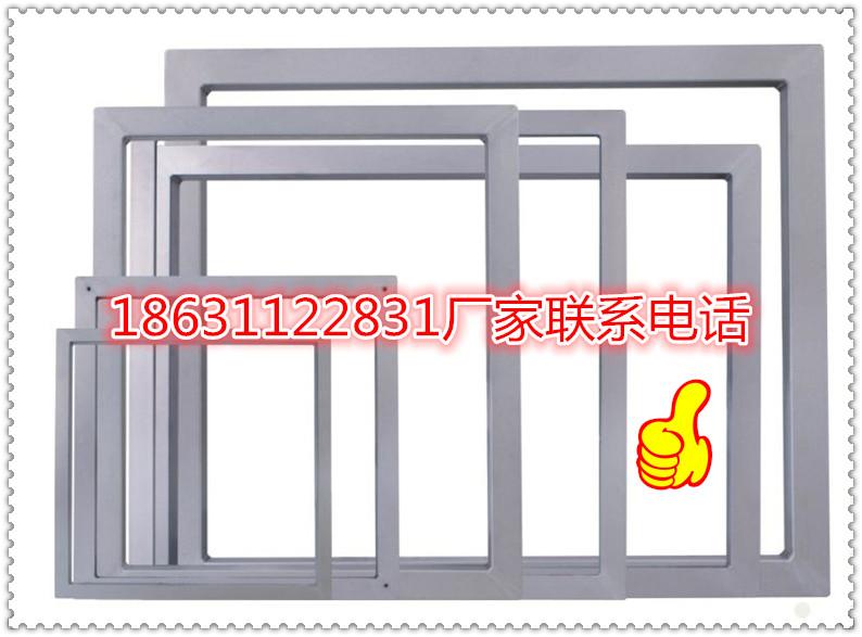 广州品牌服装LOGO图案印刷网框铝框价格