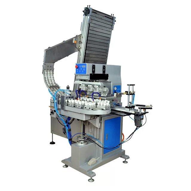奥嘉印刷全自动瓶盖移印机