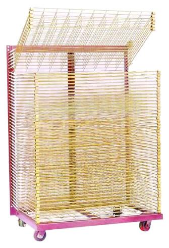 厂家丝印干燥架900*650 50层通用型丝印产品晾晒架