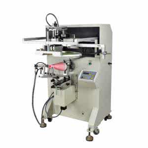 圆面丝印机/精密圆面丝印机/玻璃瓶子丝印机/塑料杯子丝印机