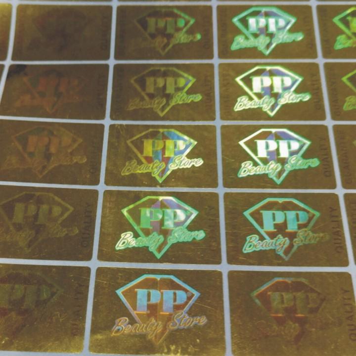印刷电码激光加密防伪标签 镭射光刻标签