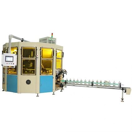 三色丝印机全自动丝印机3色UV丝网印刷机