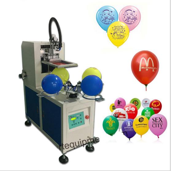 气球丝印机乳胶气球印花机广告橡胶气球丝网印刷机
