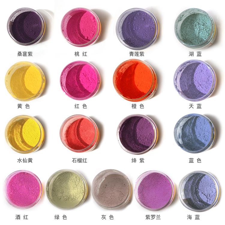 光变有色变有色玩具注塑光变粉