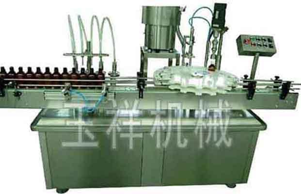 YX-GX-4Y液体灌瓶旋盖一体机厂家,价格及图片参数